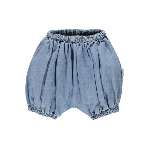 Organic Cotton Denim Bloomer