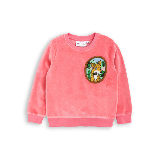 Fox Velour Sweatshirt (sale) - eenymeeny kids