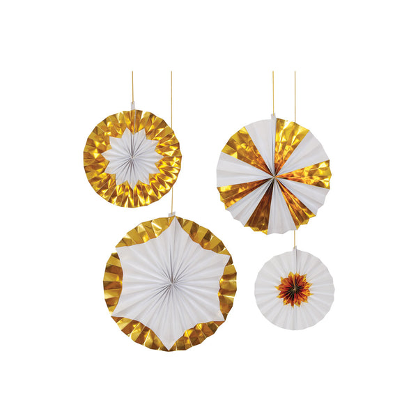Giant Gold Pinwheels