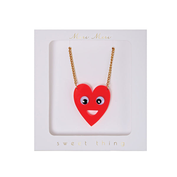 Heart necklace - eenymeenyfinal