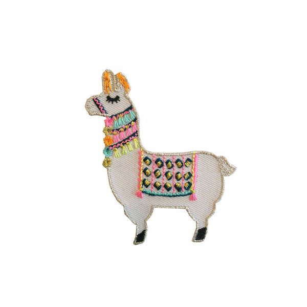 Iron on patch - Llama