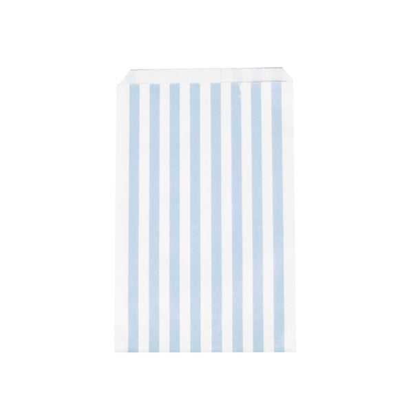 Pack of 10 paper party bags - light blue - eenymeenyfinal