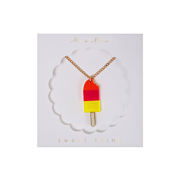 Ice lolly necklace - eenymeenyfinal