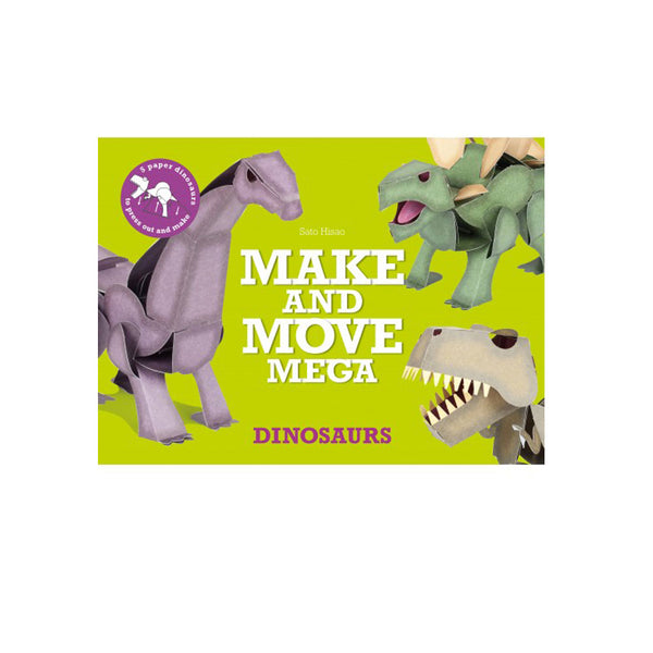Make and Move MEGA - Dinosaurs - eenymeeny kids