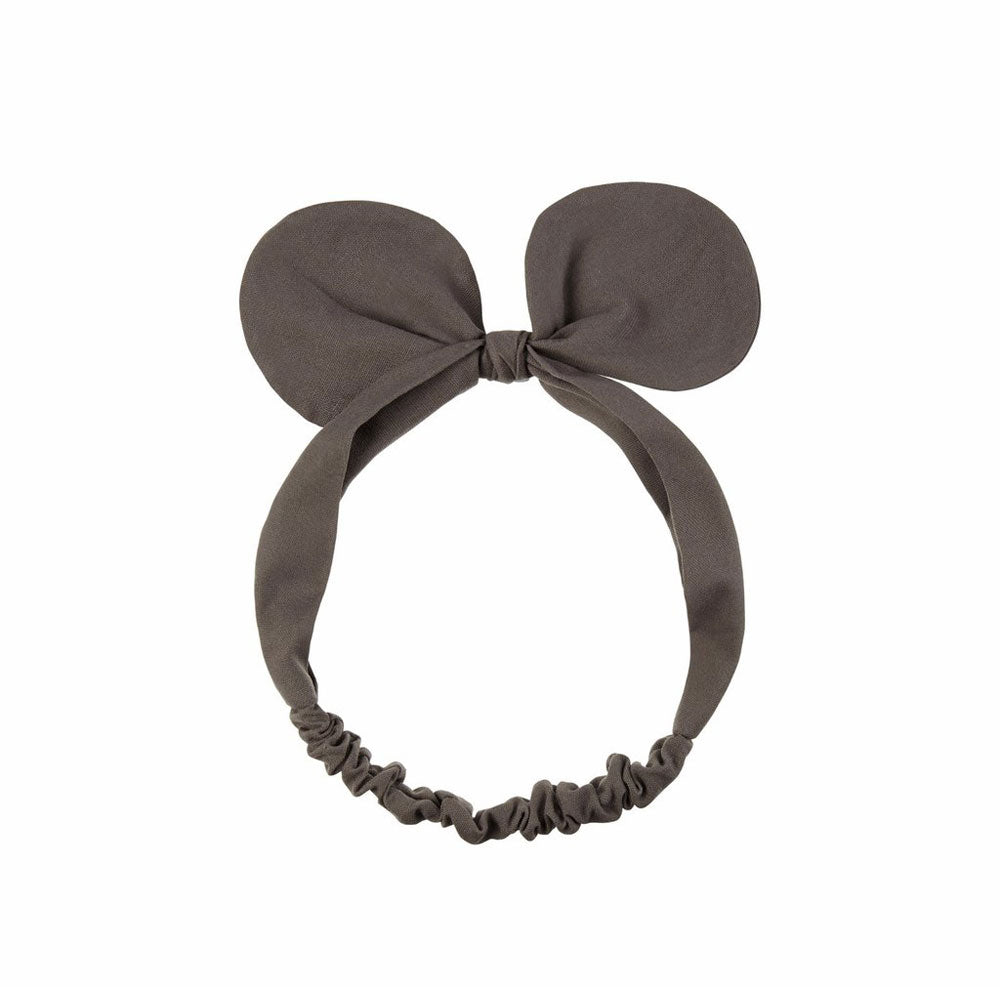 Mini Bow Bando - grey