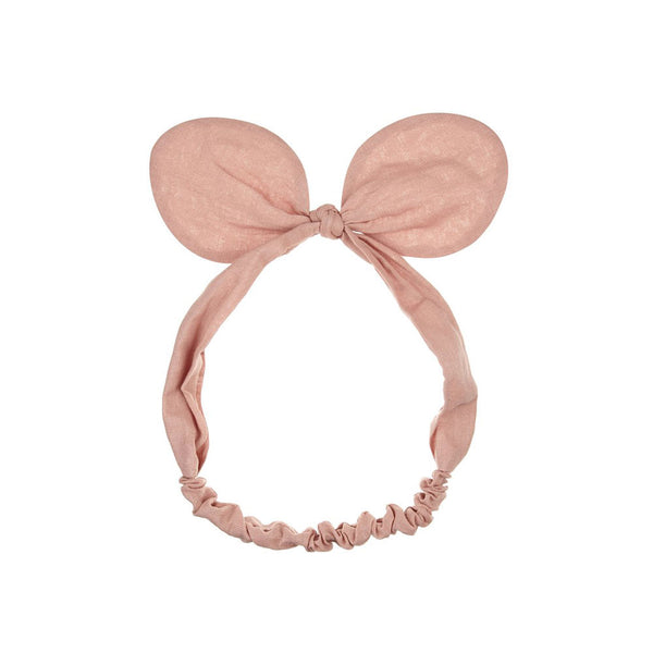 Minnie Bow Bando - coral - eenymeeny kids