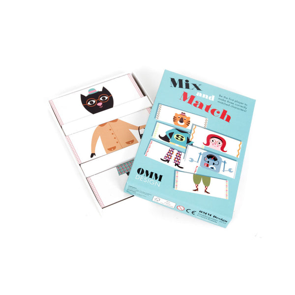 Mix & Match card game - eenymeeny kids