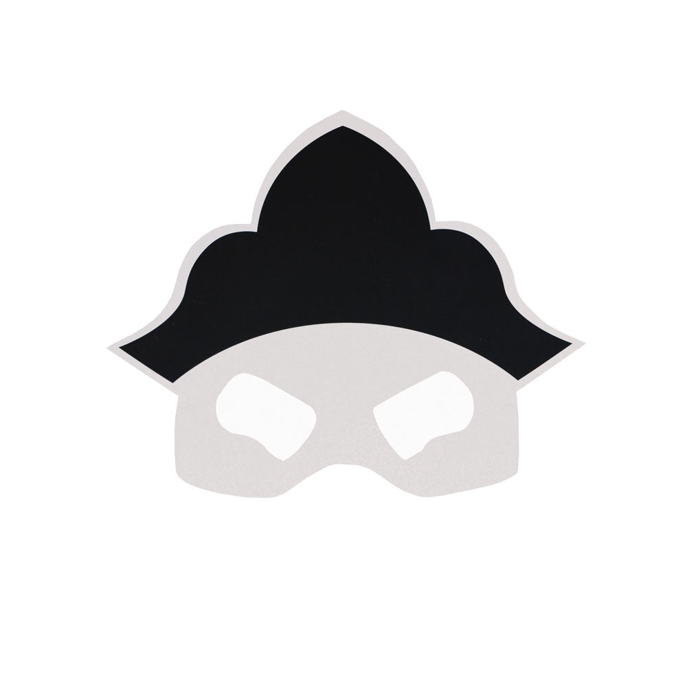 Party Pack of 8 Pirate masks - eenymeenyfinal