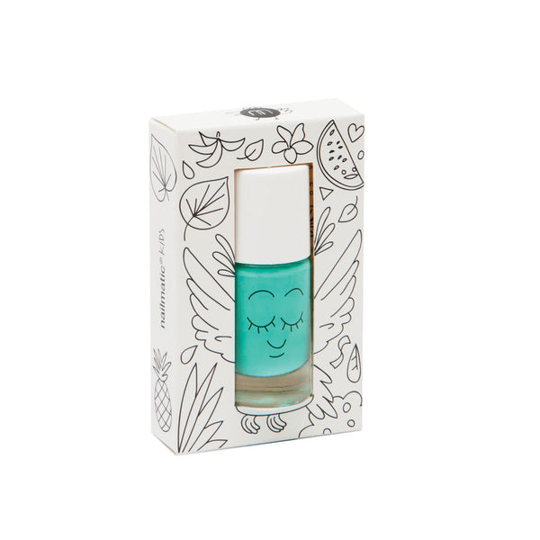 Washable nail polish - Rio Green - eenymeenyfinal