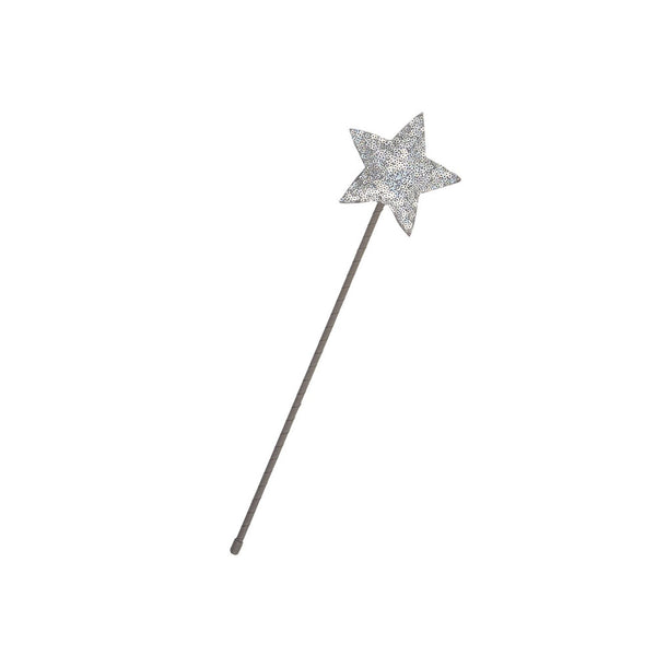 Magic Fairy Sparkle Star Wand - grey - eenymeeny kids