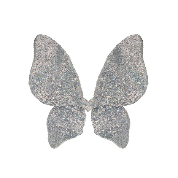 Silver Sparkle Sequin Wings - eenymeeny kids