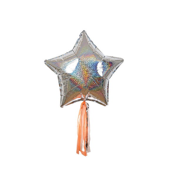 Pack of 6 Star Balloons - eenymeenyfinal - 1
