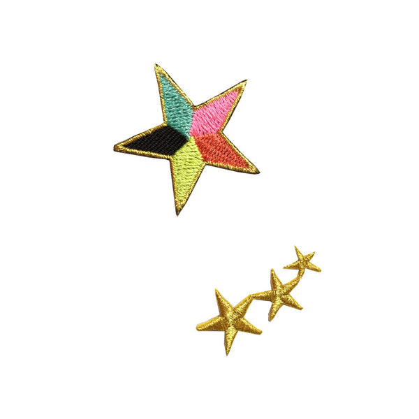 Iron on patch - stars