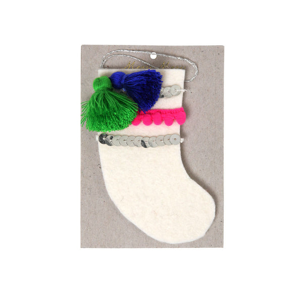 Stocking Felt Tree Decoration (sale) - eenymeenyfinal
