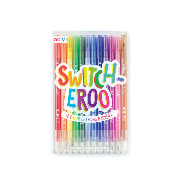Switcheroo Colour Changing Markers - eenymeeny kids