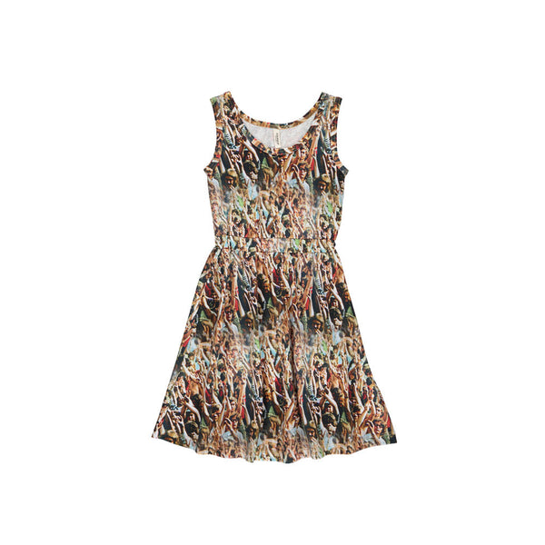 Popupshop Woodstock tank dress