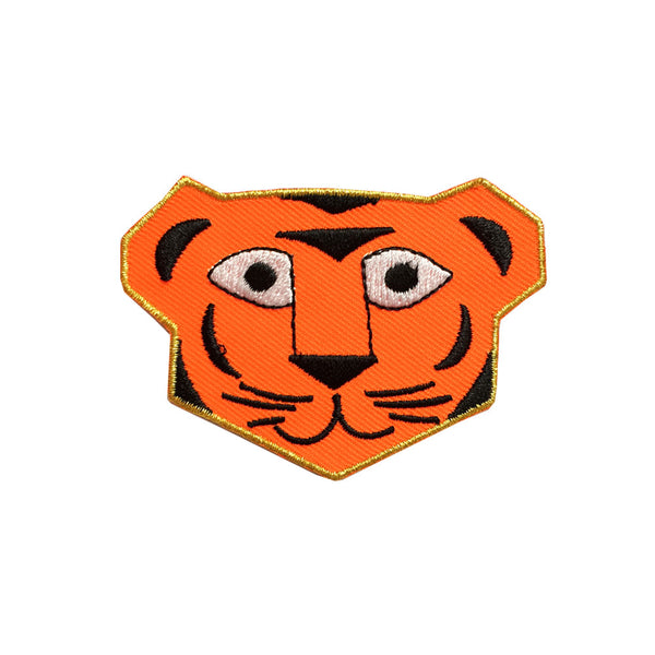 Iron on patch - tiger