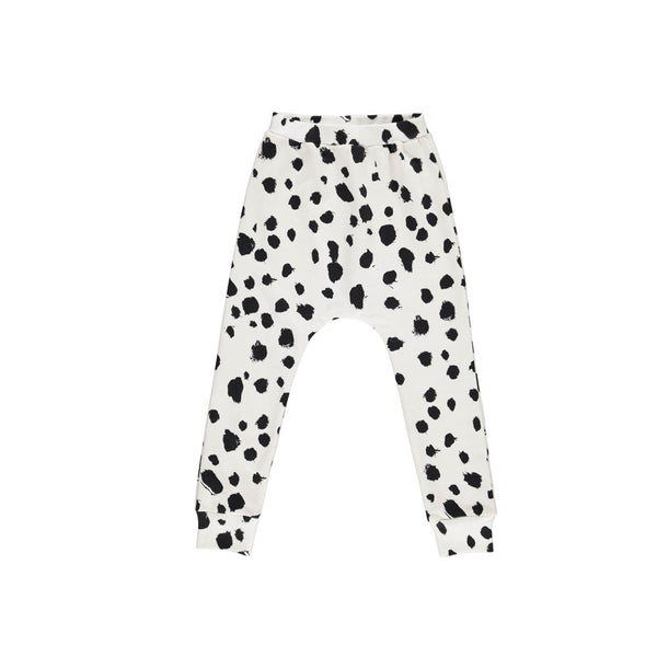 Popupshop baggy White Leo Leggings (sale) - eenymeeny kids