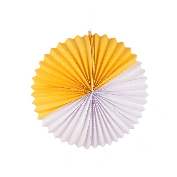 Paper Lantern- yellow and white - eenymeenyfinal