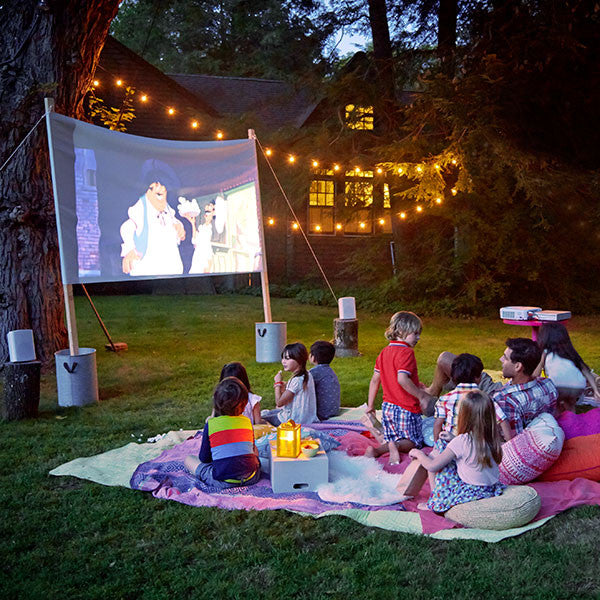Host your own outdoor movie night!