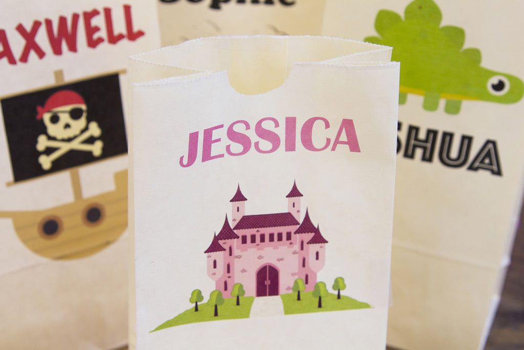 DIY Personalised Party Bags