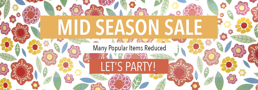 Mid Season sale - many items reduced