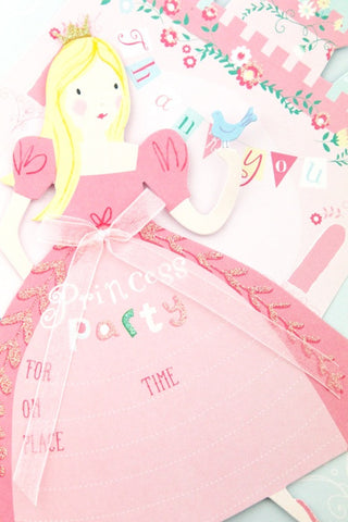 I'm A Princess Invitations (Quantity 8) - The Little Things