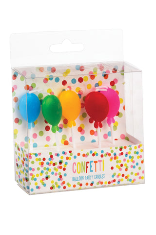 Balloon Shaped Party Candles - The Little Things