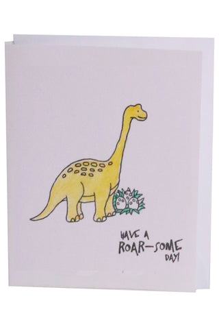 Birthday Card- Dinosaur