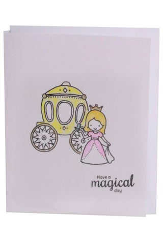 Birthday Card- Princess