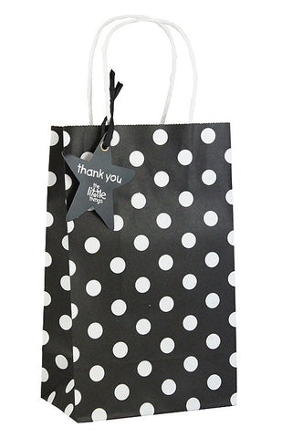 Black Luxury Spots Party Bag  - 1