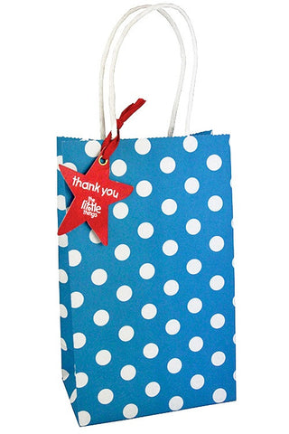 Blue Luxury Spots Party Bag - The Little Things