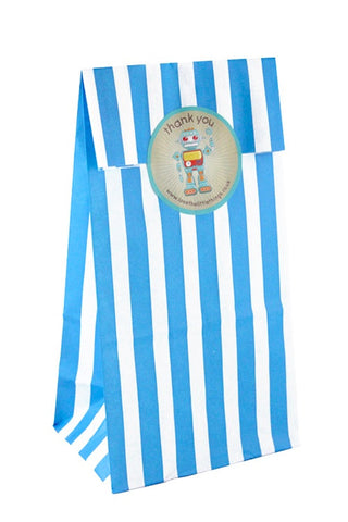 Blue Stripe Classic Party Bag  - 1