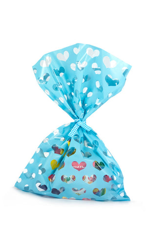 Blue Heart Cello Party Bag - The Little Things