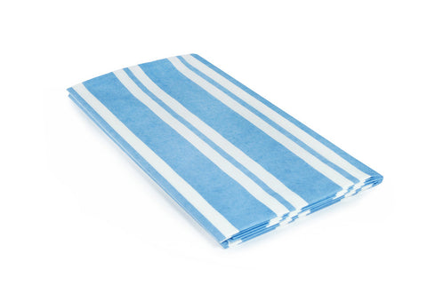 Dark Blue Stripe Table Cover - The Little Things