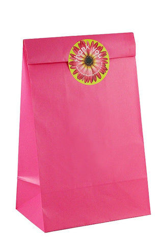 Bright Pink Classic Party Bag - The Little Things