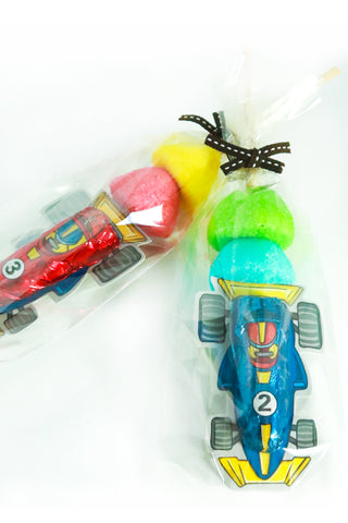 Race Car Sweet Kebabs - The Little Things