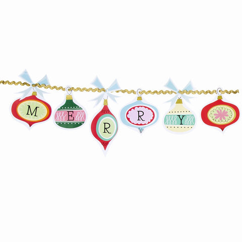 Christmas Bauble Garland - The Little Things
