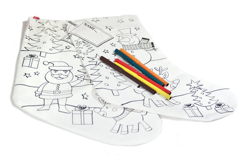 Colour Your Own Stocking - The Little Things