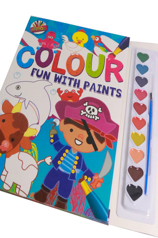 Colouring Fun with Paints (Boys)