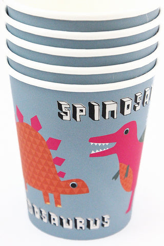 Dinosaur Cups (Quantity 12) - The Little Things