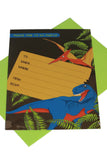 Dinosaur Invitations (Quantity 8) - The Little Things