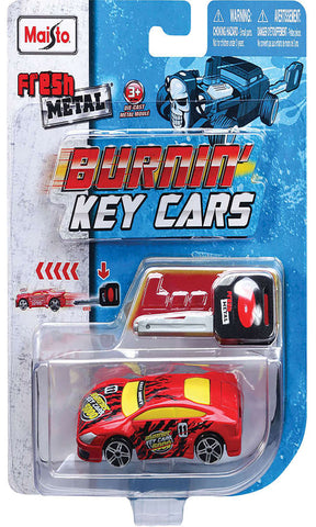 Burning Key Cars
