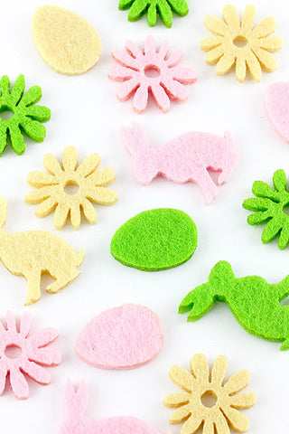 Easter Felt Table Scatters - The Little Things