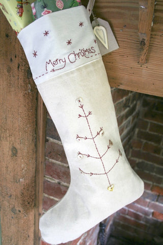 Embroidered Stockings - The Little Things
