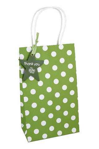 Green Luxury Spots Party Bag  - 1