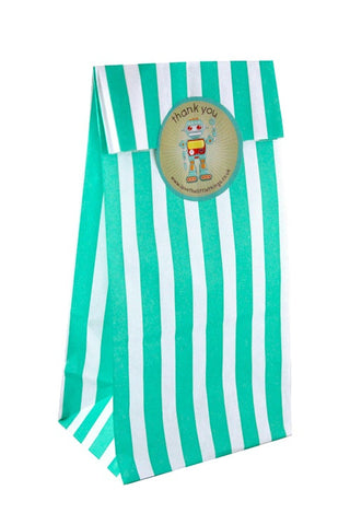 Green Stripe Classic Party Bag  - 1