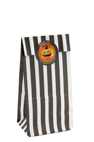 Halloween Classic Stripe Party Bag
