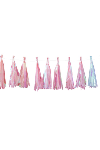 Iridescent Tassel Garland - The Little Things
