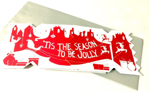 Jolly Christmas Cracker Card - The Little Things